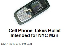 Cell Phone Takes Bullet Intended for NYC Man