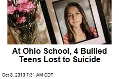 At Ohio School, 4 Bullied Teens Lost to Suicide