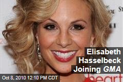 Elisabeth Hasselbeck Joining GMA