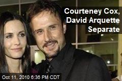 Courteney Cox, David Arquette Separate