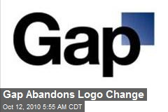 Gap Abandons Logo Change