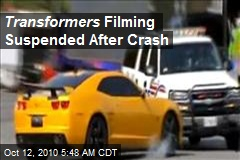 Transformers Filming Suspended After Crash
