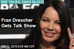 Fran Drescher Talk Show: 'The Nanny' Star Snags One-Hour Slot on Fox