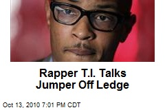 Rapper T.I. Talks Jumper Off Ledge