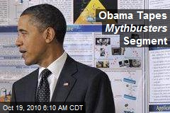 President Obama to Appear on Mythbusters