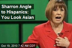 Sharron Angle To Hispanics: You Look Asian