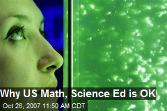 Why US Math, Science Ed is OK