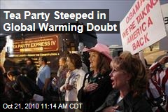 Among Tea Party, Widespread Global Warming Doubt