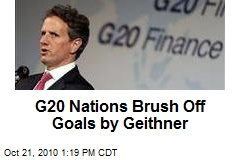 G20 Nations Brush Off Goals by Geithner