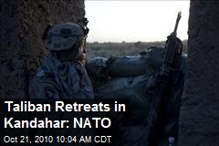 Taliban Retreats in Kandahar: NATO