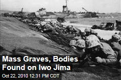 Mass Graves, Bodies Found on Iwo Jima