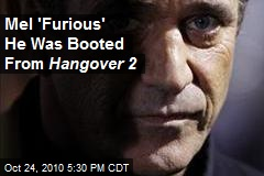 Mel 'Furious' He Was Booted From Hangover 2