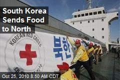 South Korea Sends Food to North