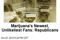 Marijuana's Newest, Unlikeliest Fans: Republicans