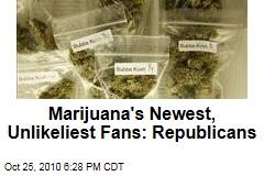 Marijuana's Newest, Unlikeliest Fans: Republicans