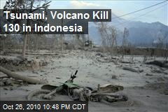 Tsunami, Volcano Kill Over 130 in Indonesia