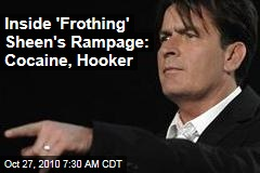 Inside 'Frothing' Sheen's $7K Rampage: Cocaine, Hooker
