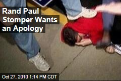 Tim Profitt, Famed Rand Paul Head Stomper, Wants Lauren Valle to Apologize to Him