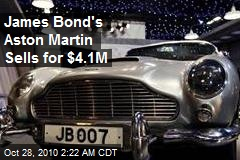 James Bond's Aston Martin Sells for $4.1M