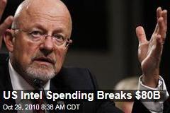 US Intel Spending Breaks $80B