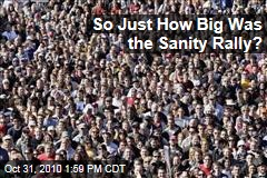 So Just How Big Was the Sanity Rally?