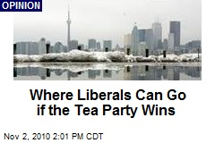 Where Liberals Can Go if the Tea Party Wins