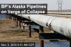 Corrosion Threatens BP's Alaska Pipelines