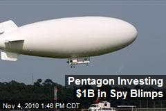 Talk about inflation; billion-dollar blimps.
