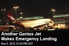 Another Qantas Jet Makes Emergency Landing