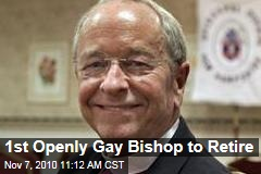 1st Openly Gay Bishop to Retire