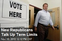 New Republicans Talk Up Term Limits