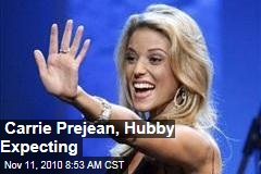 Carrie Prejean, Hubby Expecting