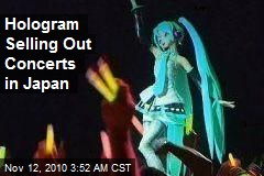 Hologram Stars in Sold-Out Concerts