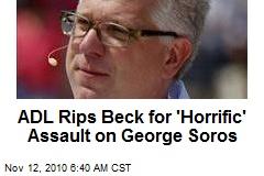 ADL Rips Glenn Beck on Death Camp Dig