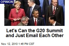 Why Do We Even Bother With the G20 Summit?