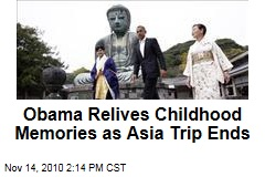 Obama Relives Childhood Memories as Asia Trip Ends
