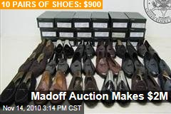 Madoff Auction Makes $2M