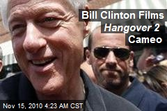 Bill Clinton Films Cameo for Hangover 2