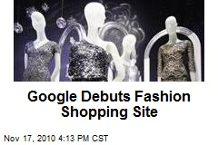 Google Debuts Fashion Shopping Site
