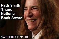 Patti Smith Snags National Book Award