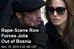 Rape-Scene Row Drives Jolie From Bosnia