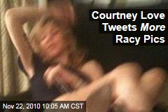 Courtney Love Tweets More Racy Pics