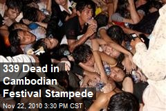 180 deaths in Cambodian stampede