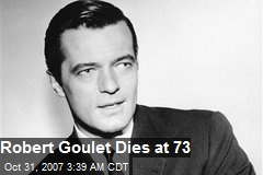 Robert Goulet Dies at 73