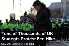 Tens of Thousands of UK Students Protest Fee Hike