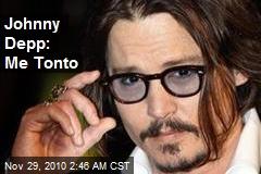 Johnny Depp: Me Tonto