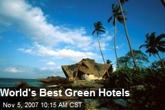 World's Best Green Hotels
