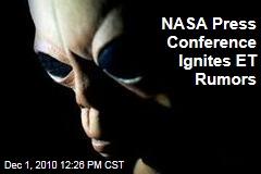 NASA Press Conference Ignites ET Rumors