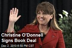 Christine O'Donnell Signs Book Deal