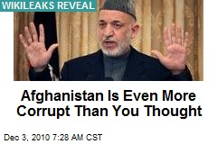 Afghanistan Is Even More Corrupt Than You Thought